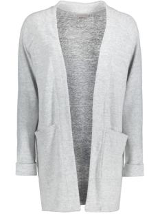 Vero Moda Vest VMFALLON LS POCKET CARDIGAN 10169857 Light Grey Melange