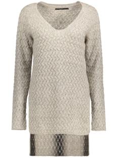 onllima l/s v-neck pullover knt 15120950 only trui ash/melange