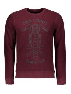 Jack & Jones Sweater JORSKULL SWEAT CREW NECK 12113166 Port Royale