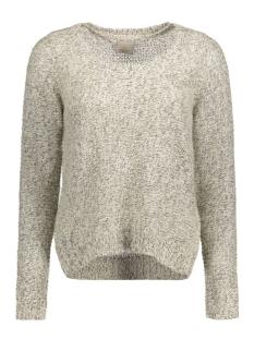 vmjive stitch ls o-neck  blouse 10167745 vero moda trui ash