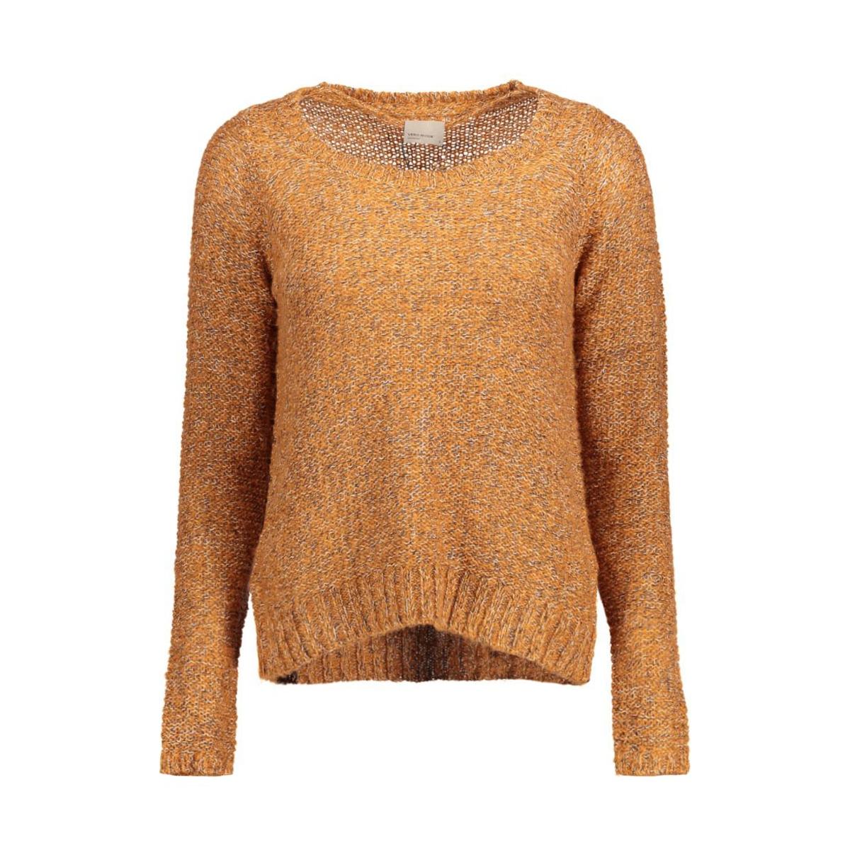 vmjive stitch ls o-neck  blouse 10167745 vero moda trui adobe