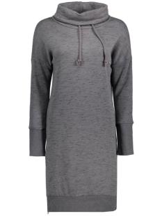 onljane highneck long l/s swt 15126843 only sweater dark grey melange