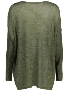 vmelva ls oversize blouse boo 10156446 vero moda trui kombu green/w ivy gre