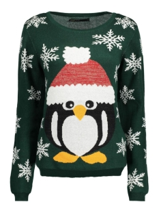 onlX-MAS DELIGHT L/S PULLOVER 15126664 Ponderosa Pine/Pinguin