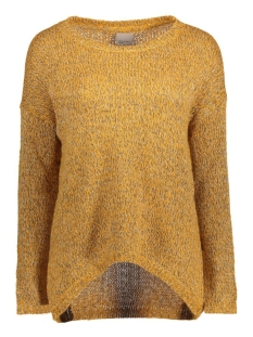 VMJIVE LS HIGH/LOW BLOUSE 10167787 Harvest gold