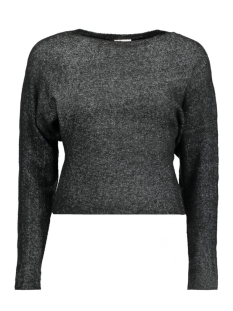 Noisy may Trui NMMILES L/S BOATNECK KNIT 10156507 Black