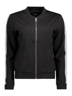 Only Vest onlSOFIE L/S ZIP BOMBER JRS 15134497 Black
