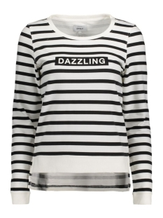 onlDAZZLING MICKA L/S O-NECK SWT 15135896 Cloud Dancer