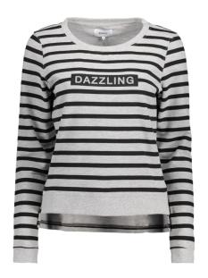 Only Sweater onlDAZZLING MICKA L/S O-NECK SWT 15135896 Light Grey Melange