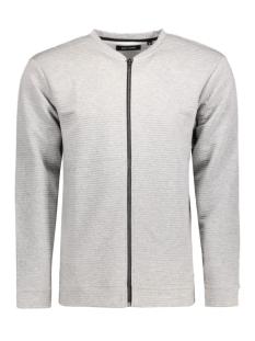 Only & Sons Vest onsBALTIMORE ZIP CARDIGAN 22004721 Medium Grey Melange
