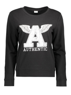 Jacqueline de Yong Sweater JDYMILLY L/S PRINT SWEAT SWT 15127215 Black/Wings