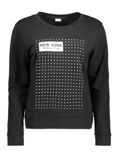 Jacqueline de Yong Sweater JDYMILLY L/S PRINT SWEAT SWT 15127215 Black/Stars