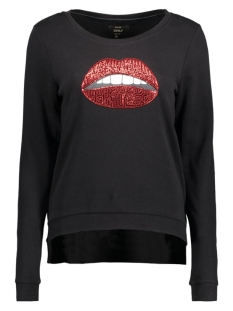 Only Sweater onlSOUND L/S O-NECK UPGRADED BOX SW 15130155 Black/Sequins So