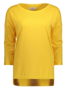 Only Sweater onlCLARA 3/4 ONECK SOLID SWT 15128952 Yolk Yellow