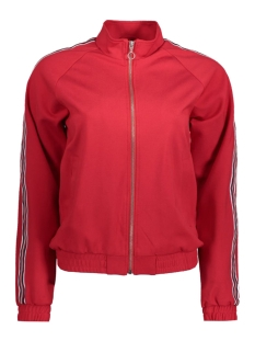 Only Vest onlPOPTRASH EASY SPORT CARDIGAN PNT 15135927 Tango Red