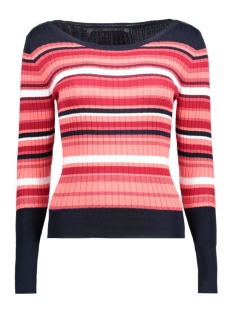 onlHAAG RIB O-NECK PULLOVER KNT 15135882 Night Sky