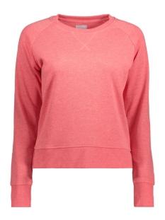 Only Sweater onlLOTUS LS O-NECK NOOS 15131554 Calypso Coral/ Melange
