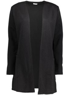 Jacqueline de Yong Vest JDYMURILLO L/S SWEATIGAN JRS 15127275 Black