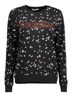 Pieces Sweater PCLITA SWEAT BOX D2D 17083799 Black/Rockstar