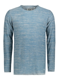 Only & Sons Trui onsSATRE REVERSE CREW NECK KNIT NOOS 22003735 Aegean Blue