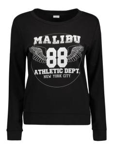 JDYMILLY L/S PRINT SWEAT SWT 15127216 Black/Malibu