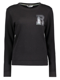 onlOILY FOIL CREWNECK SWEAT BOX JRS 15135870 Black