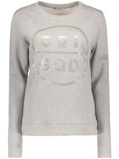 Only Sweater onlOILY FOIL CREWNECK SWEAT BOX JRS 15135870 Light Grey Melange