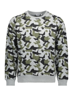 Jack & Jones Sweater JCOSCIENCE SWEAT CREW NECK 12121303 Light Grey Melange