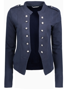 onlnew anette l/s blazer swt rp1 15138816 only blazer navy blazer