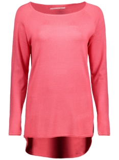 Only Trui onlMILA LACY L/S LONG PULLOVER KNT 15109964 Calypso Coral