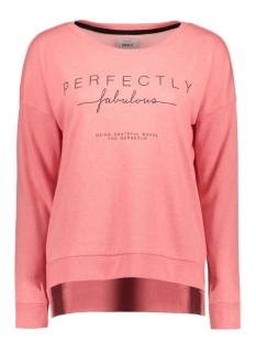 Only Trui onlFENNY L/S PRINT BOX SWT 15133437 Tea Rose/ Perfectly