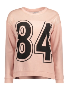 Jacqueline de Yong Sweater JDYCANDY L/S PRINT SWEAT SWT 15131683 Cameo Rose/84