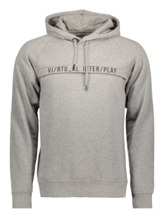 Jack & Jones Sweater JCOZORA SWEAT HOOD/CREW NECK CAMP 12119017 Light Grey Mela/Slim Hood