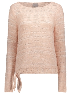 Vero Moda Trui VMOREGON LS BLOUSE 10169795 Peach Whip/ W. Snow White