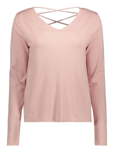 Vero Moda Trui VMJOY LS V-NECK BLOUSE 10176322 Peach Whip