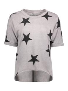 onlSIENNE S/S STAR SWT NL 15141514 Sharkskin/Stars