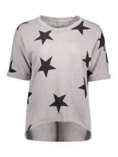 Only Sweater onlSIENNE S/S STAR SWT NL 15141514 Sharkskin/Stars