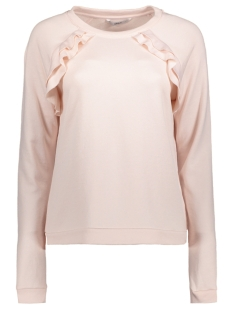 Only Sweater onlCHRIS L/S FRILL SWEAT JRS 15143563 Rosewater