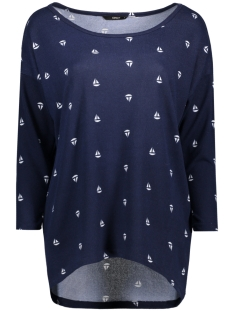 Only Sweater onlELCOS BOAT 4/5 TOP JRS 15141605 Dark Navy/Navy With