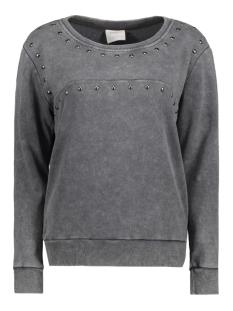 Vero Moda Sweater VMMAGGI STUD LS SWEAT DNM 10166299 Asphalt