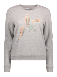 Noisy may Sweater NMFLY L/S SWEAT 2 10174705 Light Grey Melange
