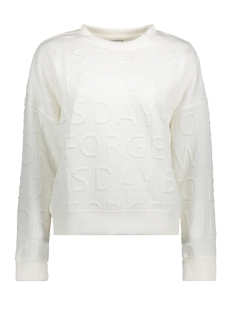 Jacqueline de Yong Sweater JDYMAKI L/S SWEAT SWT 15131724 Cloud Dancer