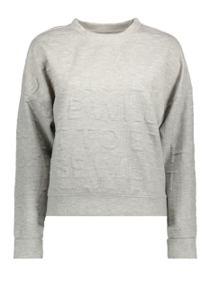 Jacqueline de Yong Sweater JDYMAKI L/S SWEAT SWT 15131724 Light Grey Melange/Melange