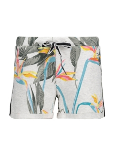onlPANU AOP SHORTS SWT 15135891 Oatmeal/Bird of Pa