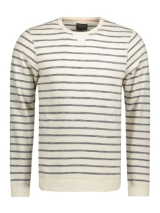 Jack & Jones Trui JJVBLACKWELL SWEAT CREW NECK 12117295 Fog