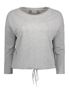 Vero Moda Sweater VMGLORY CUBA 3/4 BLOUSE 10171254 Light Grey Melange