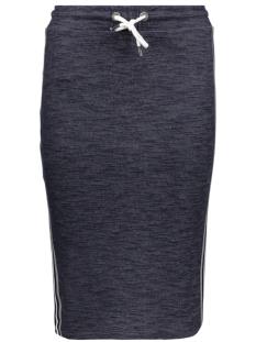 onlpernille skirt stripe swt 15141689 only rok night sky/stripe in