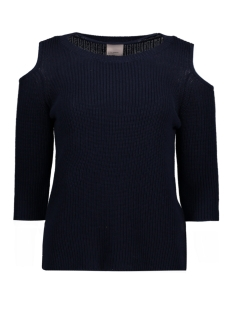 VMSAILOR 3/4 O-NECK BLOUSE 10172038 Navy Blazer/ Solid