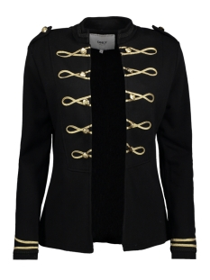 Only Blazer onlANETTE L/S JACKET SWT 15142460 Black