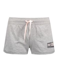 Only Play Sport short onpGILL SWEAT SHORTS 15130908 Light Grey mela